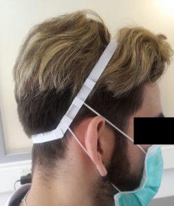 Unser Mask-Ear-Protektor. In diesem Projekt steckt eine Menge Zeit und Arbeit, um das Tragen eines Mund-Nasenschutzes, über längeren Zeitraum hinweg, angenehmer zu gestalten. Nun kommt die Großserienproduktion